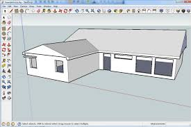 simple modern house wesharepics google sketchup house simple sketch building plans online 43648