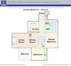 777 Floor Plan by Mark Rogo And Lynn Mirisch Rogo Wilshire Corridor Buildings