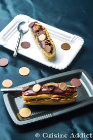 cuisine christophe eclair gianduja recipe eclairs sprinkles and cuisine
