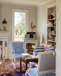 will an all blue and white home look weird oriental rug living