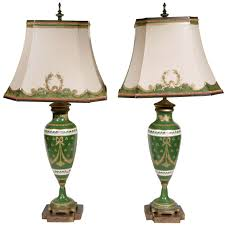 Modern Table Lamps Pair Of 19th Century Limoges Lamps Modern Table 19th Century
