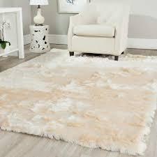 safavieh paris shag ivory 4 ft x 6 ft area rug sg511 1212 4
