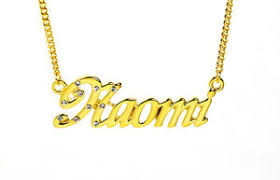 gold plated necklace with name 18k gold plated necklace with name name plate designer