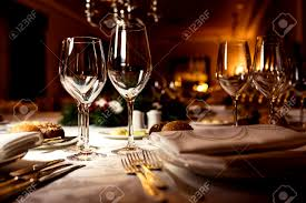Formal Dining Setting Table Furniture Knockout Formal Dinner Setting Stock Photography Image