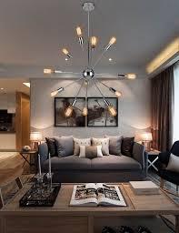 sputnik chandelier an iconic design for more than 50 years iconic chandelier design sputnik chandelier modern living room gray