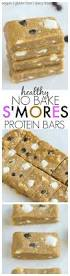 diy protein bars no bake s u0027mores protein bars