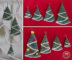 christmas tree hanging ornaments pdf pattern toma creations