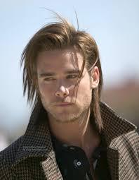 semi long men u0027s hairstyle for layered hair