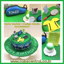 Badminton Cake Sports Cake By Cake Central Delhi U0027s Premier