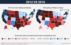 2004 Presidential Election Map by Electoral College Map Projections Clinton Vs Trump Business