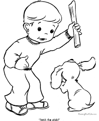 animal printables puppy coloring pictures