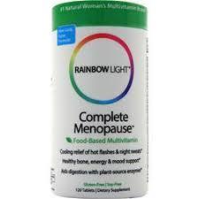 rainbow light multivitamin side effects rainbow light complete menopause multivitamin on sale at