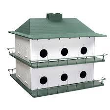 cool bird house plans heath plastic 12 room purple martin house ph 12 the home depot