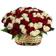 full of romance a beautiful basket arrangement of 50 red and