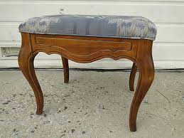 Ethan Allen Country French Bedroom Furniture by Ethan Allen Country French Foot Stool Ottoman Bench Legacy A