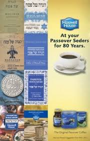 maxwell house hagaddah to the last afikomen the new maxwell house haggadah