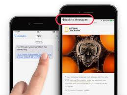 guide use the back button to quickly resume apps on iphone ios