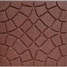 Recycled Rubber Patio Tiles by Envirotile Is Made With 100 Recycled Rubber Produced From Car