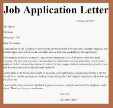 application for vacancy cover letter application letter for vacancy format writing and editing