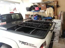 Truck Bed Bars Securing Truck Bed Bars And Cargo Basket Nissan Frontier Forum