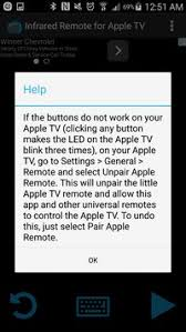 apple tv remote android infrared remote for apple tv apk free tools app for