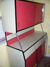 meuble cuisine formica meubles de cuisine en formica des ées 1950 1960 rockin