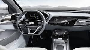 futuristic cars interior audi e tron sportback concept futuristic interior design youtube