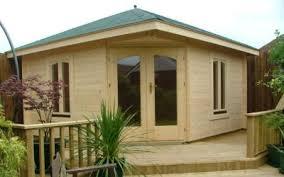 Summer Garden Sheds - timber garden buildings kent log cabin timber lodge