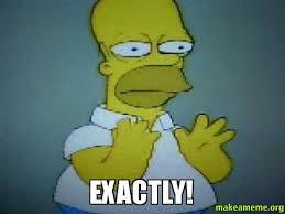 Homer Simpson Meme - exactly homer simpson exactly make a meme