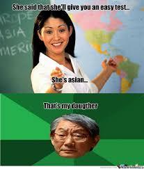 Asian Teacher Meme - rmx asian teacher by astrodam meme center