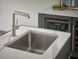 brizo solna kitchen faucet single handle pull out kitchen faucet 63220lf ss solna