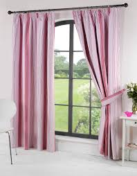 Light Pink Window Curtains Pink Stripey Curtains Www Curtainscouture Co Uk Living Room