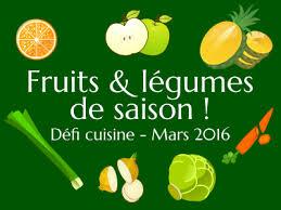 cuisine saison défi cuisine fruits et légumes de saison