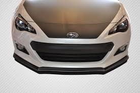 subaru brz spoiler 13 16 subaru brz st c carbon fiber creations front bumper lip body