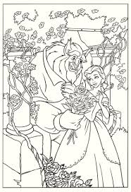 15 printable beauty and the beast coloring pages coloring pages