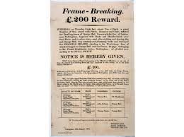 break up letter to great britain when robots take all of our jobs remember the luddites an 1812 handbill sought information about the armed men who destroyed five machines the national archives uk