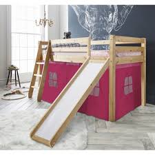 Princess Bunk Bed With Slide Creating Princess Loft Bed With Slide Princess Loft Bed With