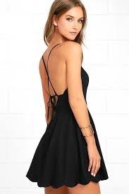 backless dress adorable black dress halter dress backless dress scallop