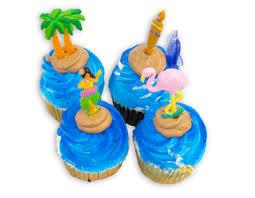 Luau Cake Decorations Hawaiian Luau Cupcake The Pennsylvania Bakery