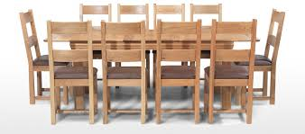 Extendable Dining Table Seats 10 Constance Oak 180 230 Cm Extending Dining Table And 10 Chairs