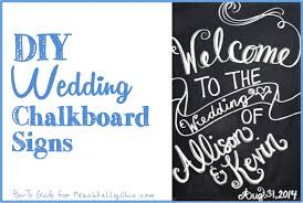 wedding signs diy diy wedding chalkboard signs noshadow jpg