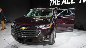 2018 chevrolet traverse redesign details cars news reviews and