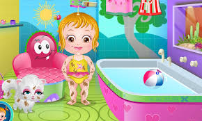 Baby Hazel Room Games - baby hazel spa bath game