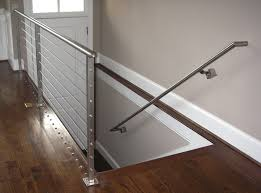 Banister Handrail Contemporary Railings Stainless Steel Cable Railings U2014 Hudson