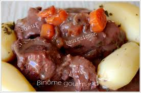 cuisiner une joue de boeuf boeuf bourguignon binôme gourmand