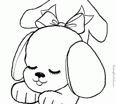 luxury free printable puppy coloring pages 75 download coloring