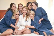 waffle robes for bridesmaids personalized robe ebay