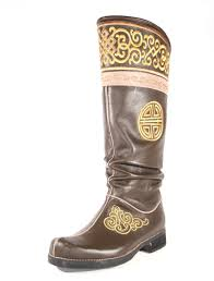 ornament of happiness carved boots mongolian shop buy now
