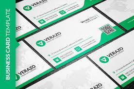 clean green business card business card templates creative market