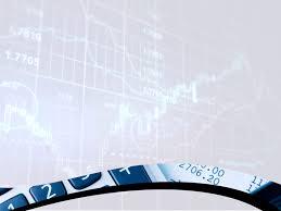 theme powerpoint 2007 economy market background finance economy ppt background template blue
